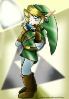 Ocarina of time by Feather-Storm