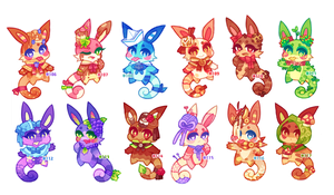 (CLOSED) Charminis Army #8 by scarletscreations