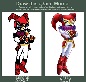 Draw this again! Meme - Reala by InfernoWizard