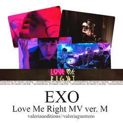 EXO Love me right - MV ver ch by valeriaaeditions