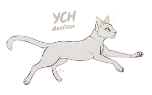 [YCH auction/CLOSED] Kitteh by Mistrel-Fox