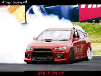 EVO X Drift by Dorki