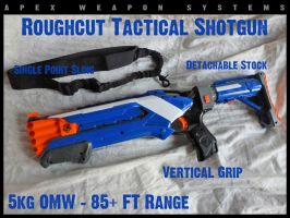 NERF Roughcut 2x4 by MarcWF