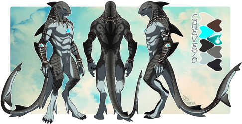 Cheveyo Character Sheet - Commission by Harseik