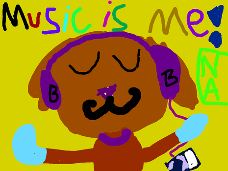 Shad dog listening to music by commetsupergirl323