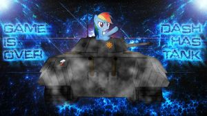 Gift: Dash Has Tank by EmbersAtDawn