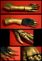 cosplay prop: gauntlet by eamilia