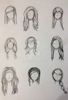 woman's hairstyles  by Aiclo