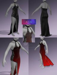 (3D) Avilife WIP Outfit 4 by CherrysDesigns