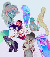 sketchdump 11 by loish
