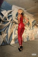 Danca Red Tights Red Top 02 by malkiss