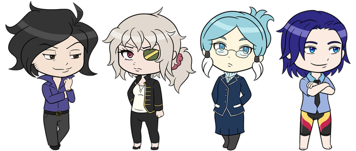 Chibi VN - Teachers by RaineyJ