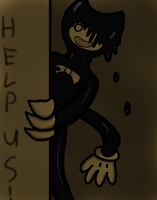 Nightmare Bendy by RichardtheDarkBoy29