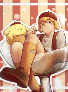Pompompurin by PoisonicPen