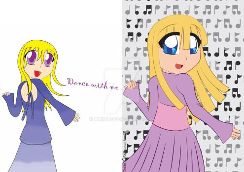 Dance With me - Compare Old With New Version by kiki34