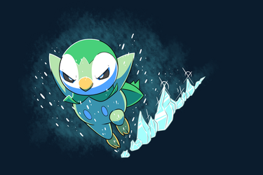 Evil Piplup by Tomthebaker