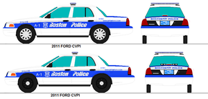 Boston Ma Police Ford Cvpis by PRPFD2011