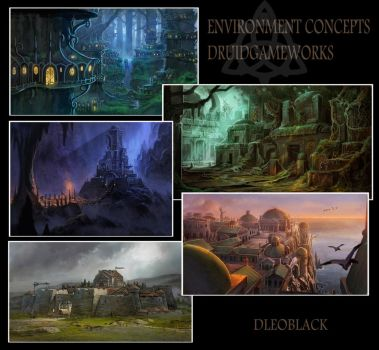 environment concepts by dleoblack
