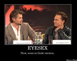 Chris and Tom: Eyesex by CABARETdelDIAVOLO