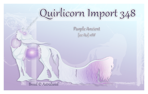 Quirlicorn Import 348 by Astralseed