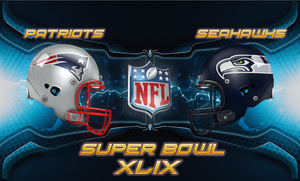 Super Bowl XLIX Wallpaper by Nivrag69