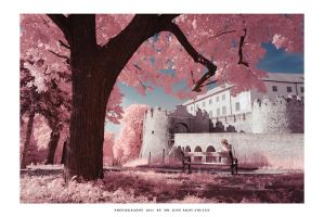 Fort Siklos in IR - II by DimensionSeven