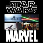Marvel movie referencing Star Wars by JMK-Prime
