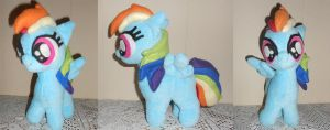 My Little Pony Filly Rainbow Dash For Sale by Sophillia