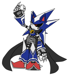 Neo Metal Sonic -WIP- by SRB2-Blade