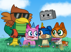 Unikitty! by Strikerwott12