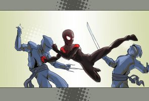 Ultimate Comics Spider-Man by facelesscow