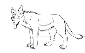 Wolf Lion Hybrid Lines for 20 points by Juzoka-Vargulf-Eqqus