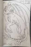 Atticus Void (Leader of the Void Dragons) by LaFamilia8358