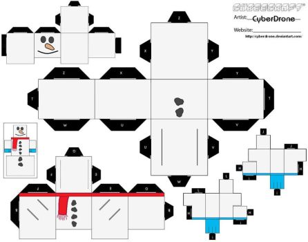 Cubee - Snowman 'Ver1' by CyberDrone
