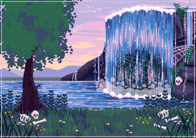 [C] Waterfall by Forheksed