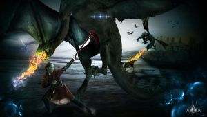 Dragons' Attack by Altair-E