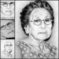 Lola's Charcoal Portrait by ffdiaries958