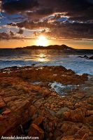 Sunset at Sardinia by amrodel