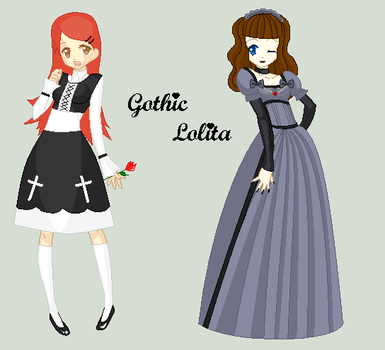 Gothic Lolita Collab by Incognito-77