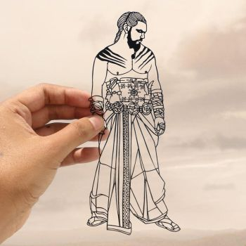 Papercut - Indian - Game of Thrones - khal drogo by ParthKothekar