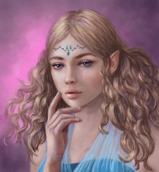 Moonstone Elf by Sirinne