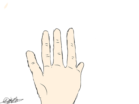 Hand by thepixelaura