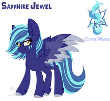 [Gift] Sapphire by CreativeChibiGraphic