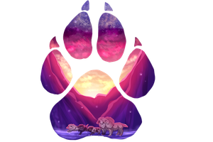 Paw of Winter by kittyline13