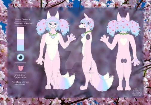 Sakura Reference Sheet