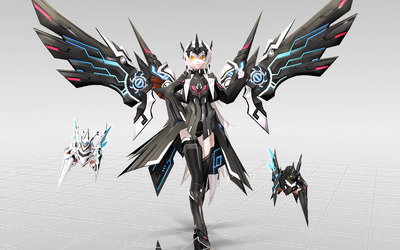 [MMD-Elsword] Eve Code Ultimate DOWNLOAD! by Darknessmagician