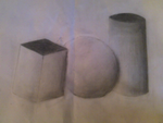 Art Project - shapes and shading by Ihashershey270