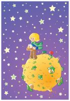 Little prince vector by jkBunny