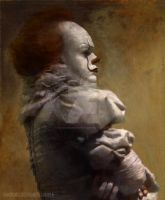 Pennywise Renaissance Painting by FandomScreenshots