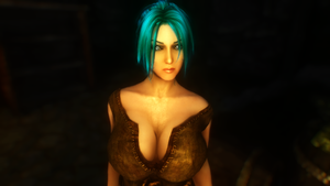 Dem Tits #9.....The Blue Goddess... by TheEldersScrollsGuy